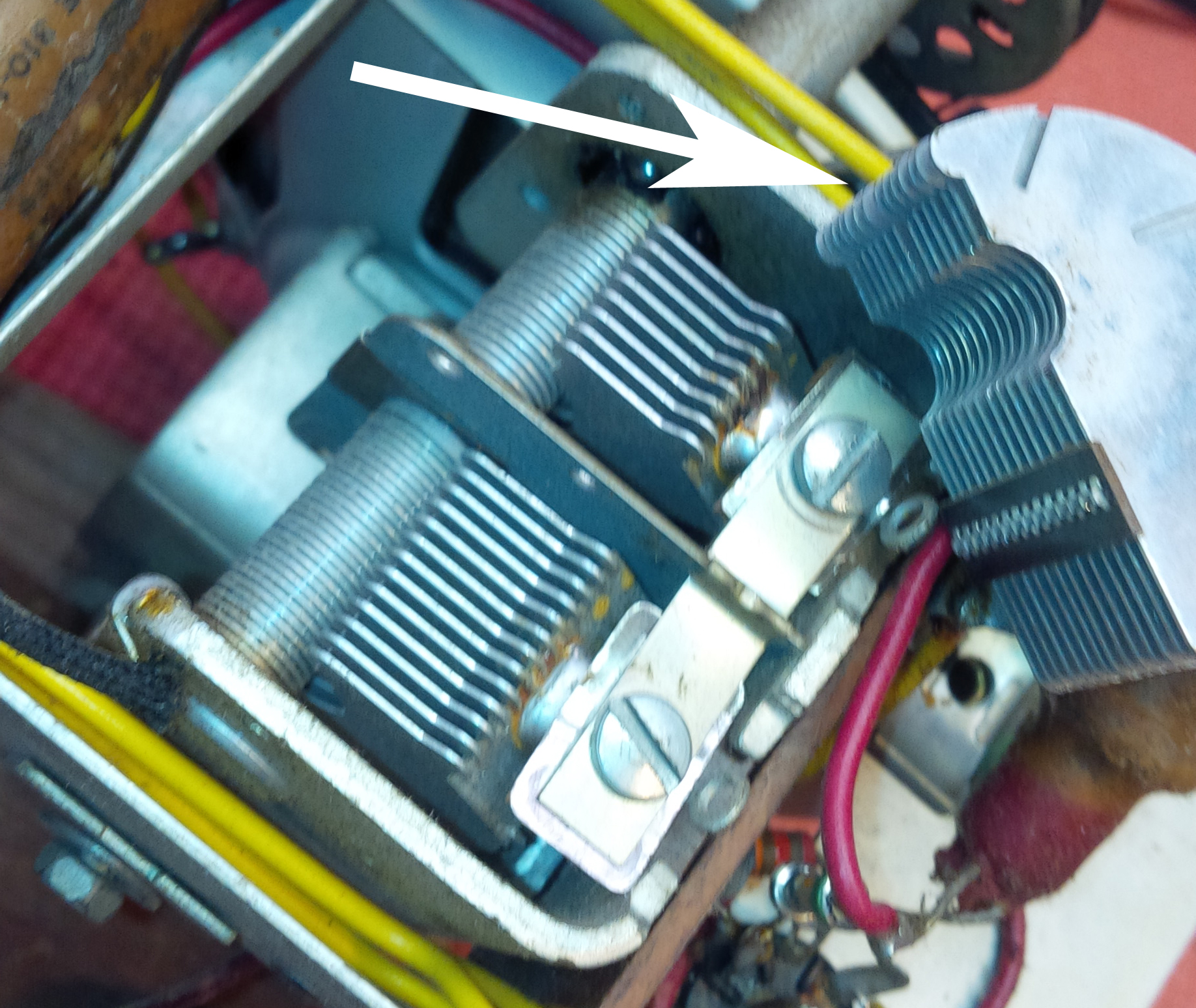 Tuning Capacitor Repair Canadian Vintage Radio Society Antique Forums O View Topic Tv Antenna Rotor Control Box Img 20180420 113931
